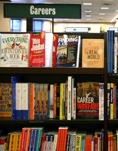 Careers section in bookshop