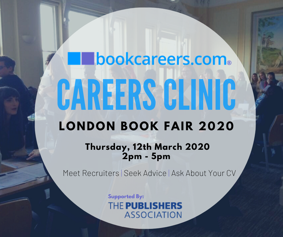 bookcareers.com Careers Clinic at the London Book Fair