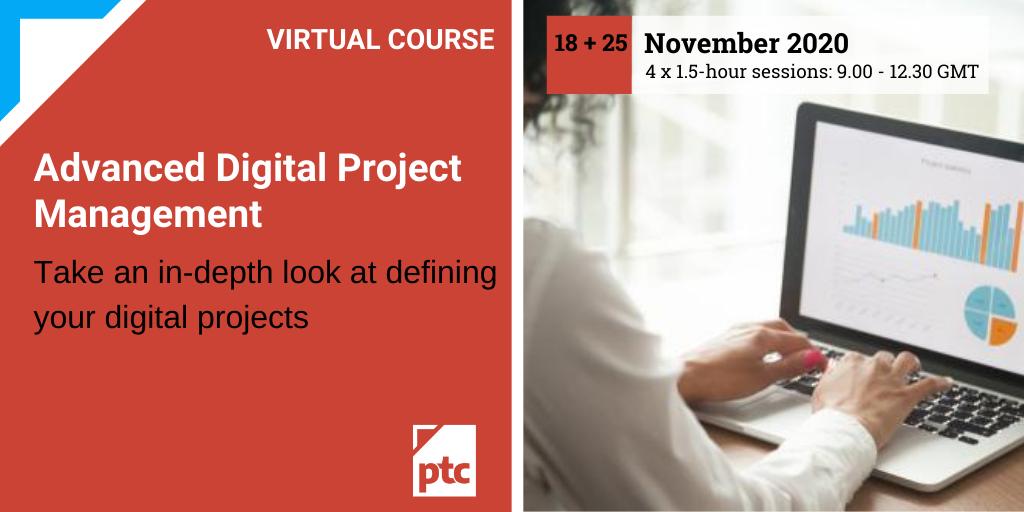 Advanced Digital Project Management (DPM Stage 2)