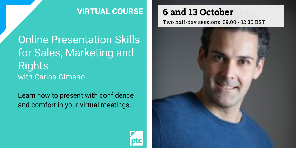 Online Presentation Skills for Sales, Marketing and Rights